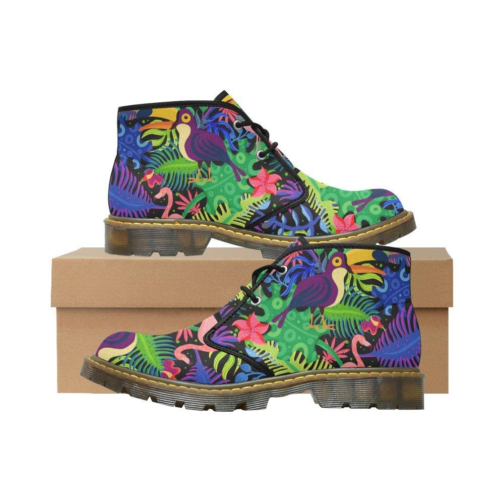 Artsadd Unique Debora Custom Women's Nubuck Chukka Boots Ankle Short Booties B0795MFKWZ 7.5 B(M) US|Multicolored25