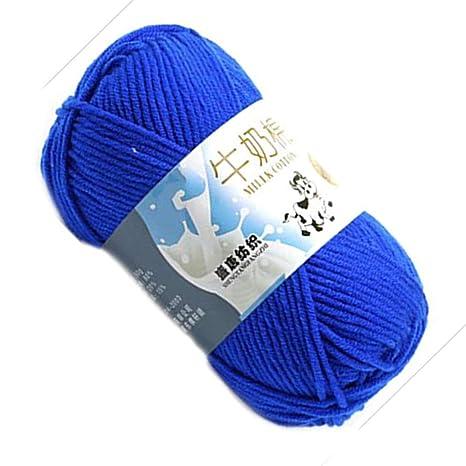 Lorsoul Caliente DIY de algodón Hilado de la Leche del bebé del ...