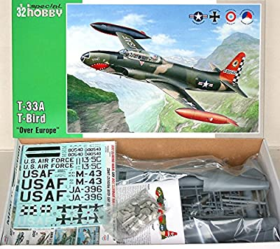Special Hobby T33A T-Bird Aircraft Over Europe Plastic Model Kit (1/32 Scale)