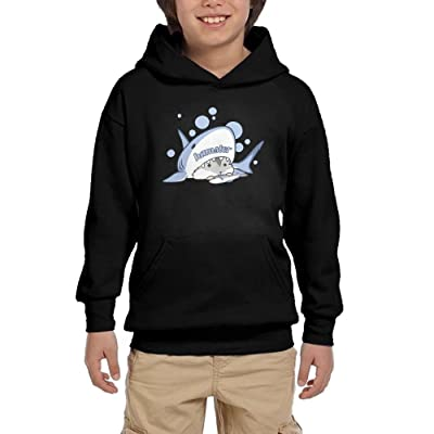 The Hamster Is In The Shark Teen Girls Pullover Hoodie Casual Pocket Sweatshirts