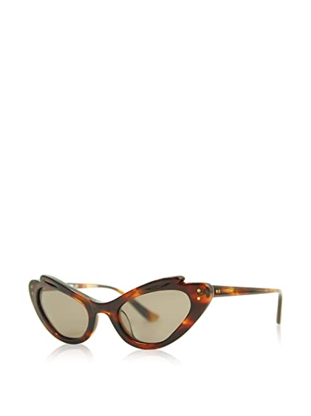 Moschino Gafas de Sol MO-T-69602 (49 mm) Havana: Amazon.es ...