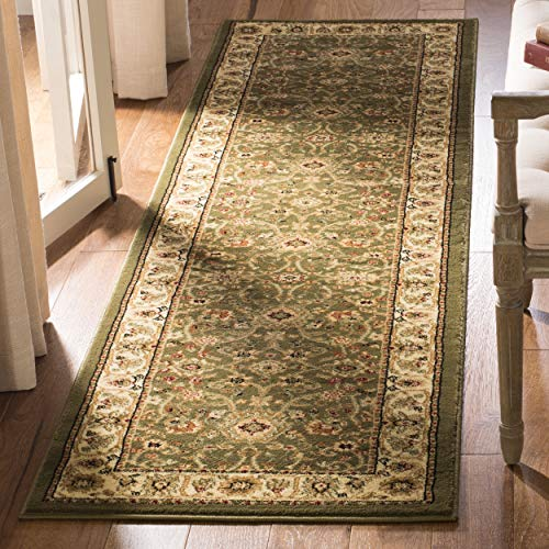 Safavieh Lyndhurst Collection LNH212C Traditional Oriental Sage and Ivory Runner (2'3