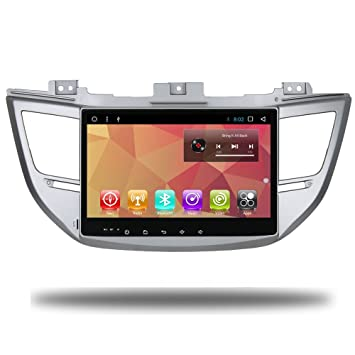 10.1 Inch Android 7.1 Car Radio GPS Player for Hyundai IX35 Tucson 2015 2016 2017 Navi