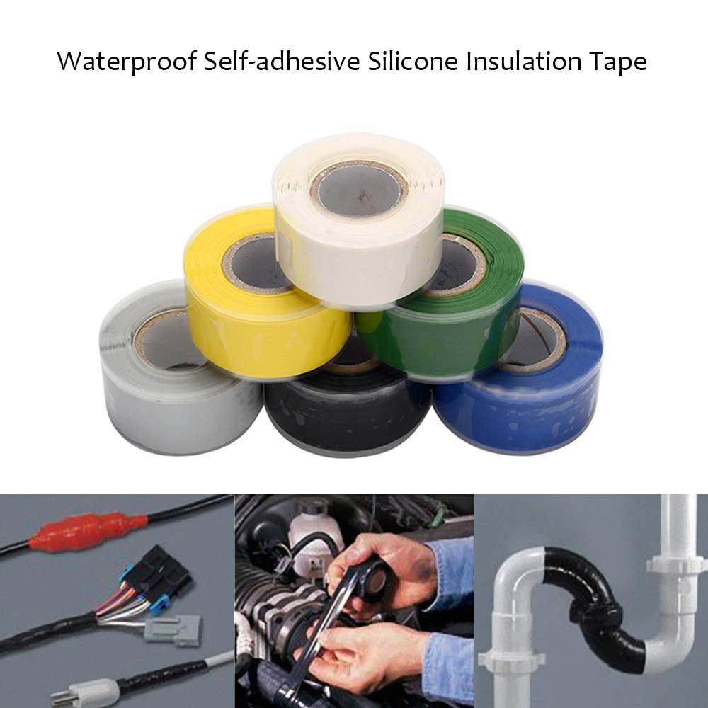 Bubble Insulation Waterproof Self-Adhesive Silicone Rubber Sealing Insulation Repair Tapes for Electrical Cables Connections Water Pipe by B_PEAL