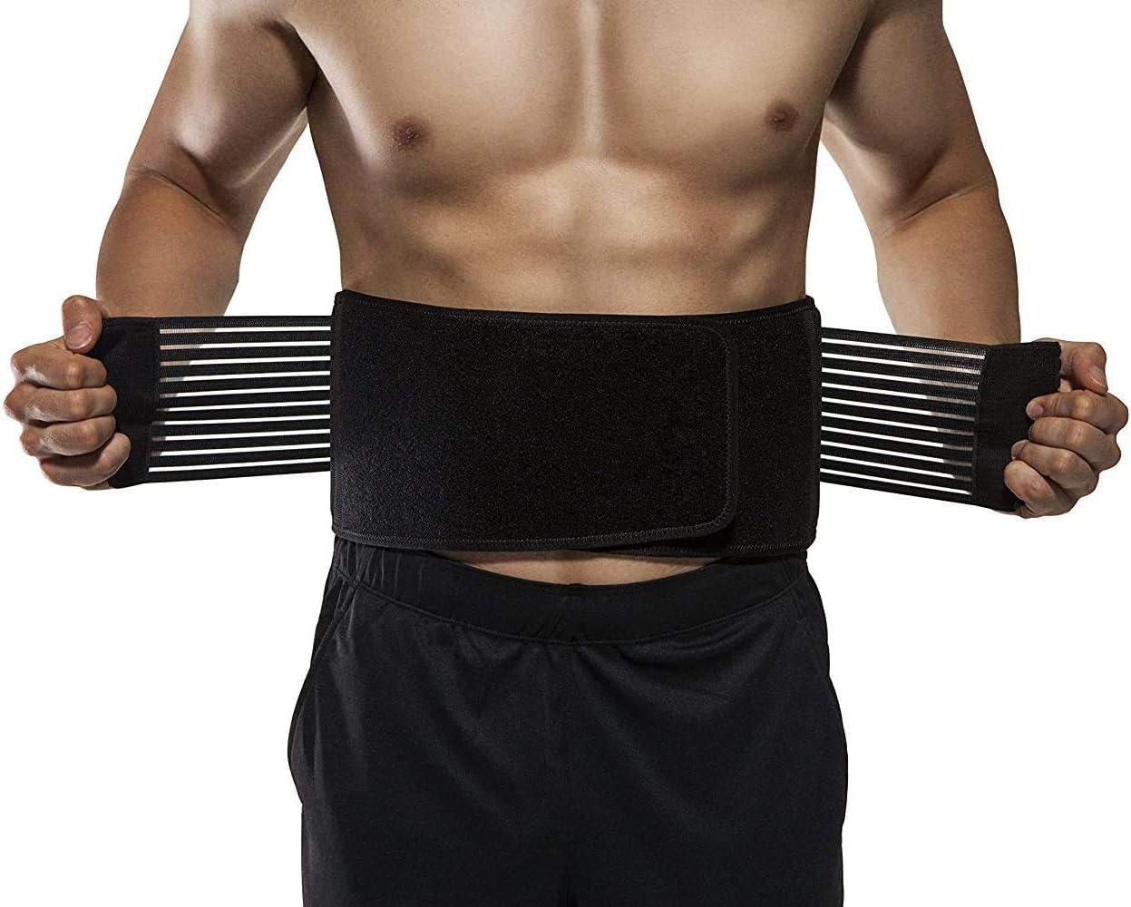 OrthoCare S - Faja lumbar hombre/mujer. TALLA ÚNICA. Corrector de postura y Rehabilitación de dolor y lesiones.