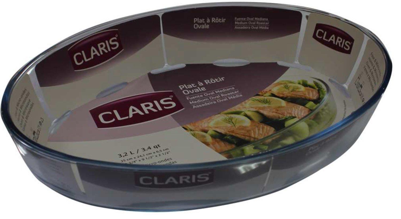 Claris Gran - Cazuela de Cristal, Forma de Fuente para el Horno ...
