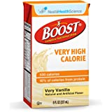 Oral Supplement Boost VHC Very Vanilla 8 oz. Carton Ready to Use, 8 Fl Oz (Pack of 27)