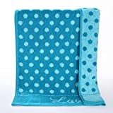 HOMEE Thick Cotton Soft and Absorbent Towels Wash Cloth,B