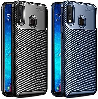 VGUARD [2 Unidades] Funda para Samsung Galaxy A20 e / A20e, [Fibra ...