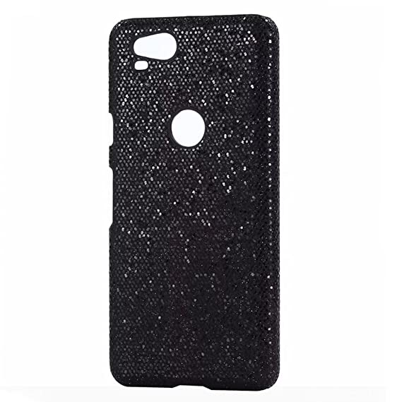 size 40 e16f8 67c9d Pixel 2 XL Case.Pixel 2XL Case,Fusicase Ultra Thin Hard PC Sparkle Powder  Full Back Cover Glitter Case for Girls for Google Pixel 2 XL