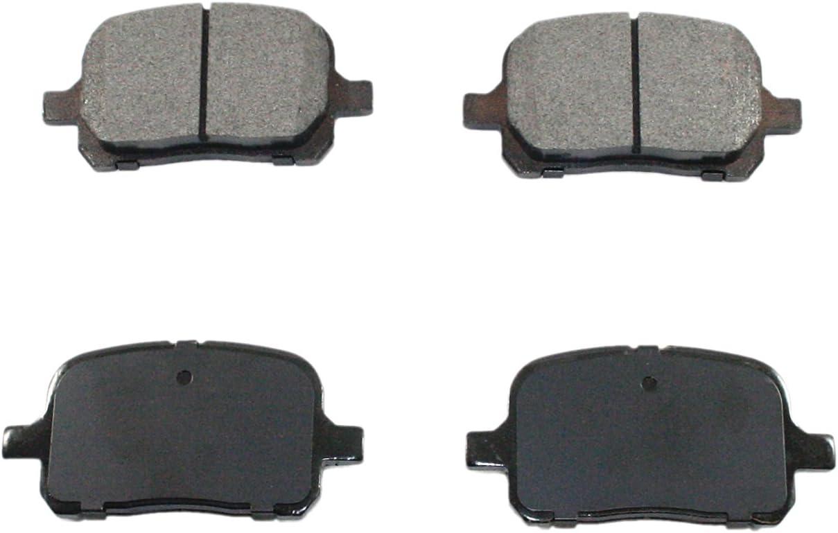 DuraGo BP707 C Front Ceramic Brake Pad