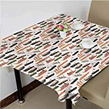 Ship Picnic Table Cloth Ships Boats Galleons