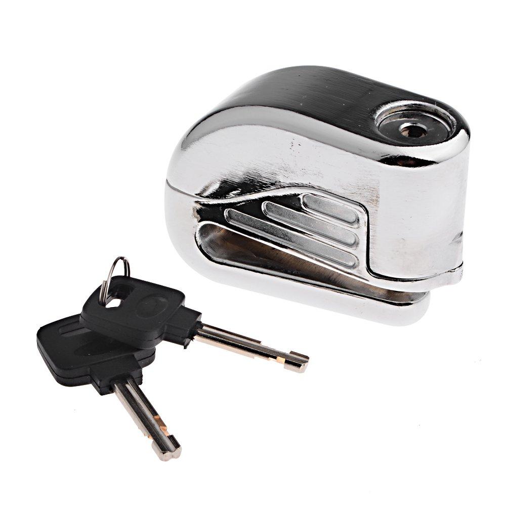 Anti ladrón seguridad alarma Electron Bloqueo de freno de disco 6 mm Pin para motocicleta moto seguridad deporte de carreras de bicicleta: Amazon.es: Coche ...