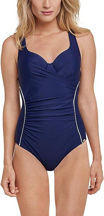 Schiesser Badeanzug Costume da Bagno Donna