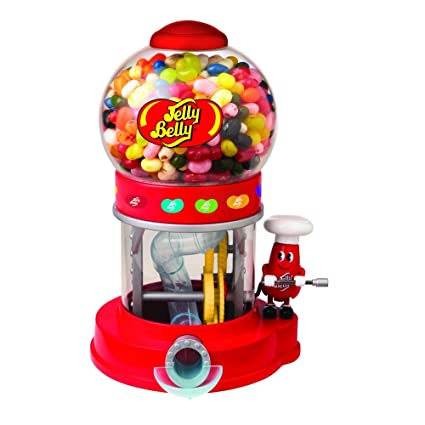 Mr Jelly Belly Bean Machine Dispenser & Assorted Jelly Beans Bags 28g