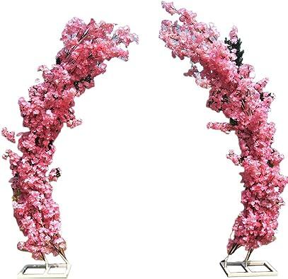 SUNNAIYUAN Arcos Ceremonia de la Boda, Decoraciones del Fondo de Disparo, Jardín Arcos, Independiente del Soporte aleatoria colocación es un jardín de Rosas Soporte de Planta trepadora (Color : B): Amazon.es: Joyería