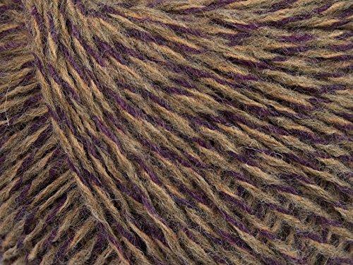 Lilac Stone Beige Viscido Fine - Acrylic, Alpaca, Wool Blend Sport Weight Yarn 50 gram ()