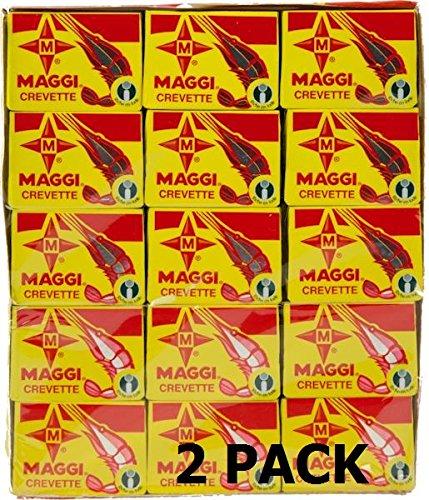 Maggi Crevette/Shrimp Two (2) Packages 120 x 10g