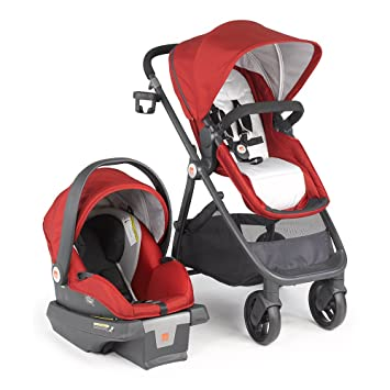 Amazon.com : gb Lyfe Travel System, Merlot : Baby