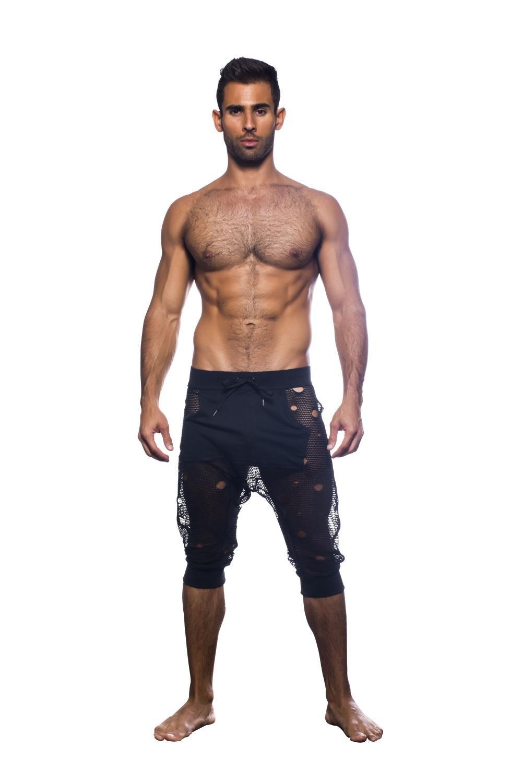 Rebel Street Shorts, Black, Large