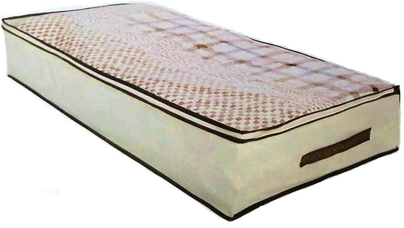 Cajas para debajo de la cama, para ahorro de espacio, cajas de almacenamiento guardarropa, paquete de 2 unidades: Amazon.es: Hogar