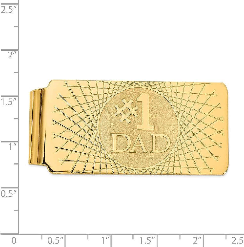 14k Yellow Gold Money Clip