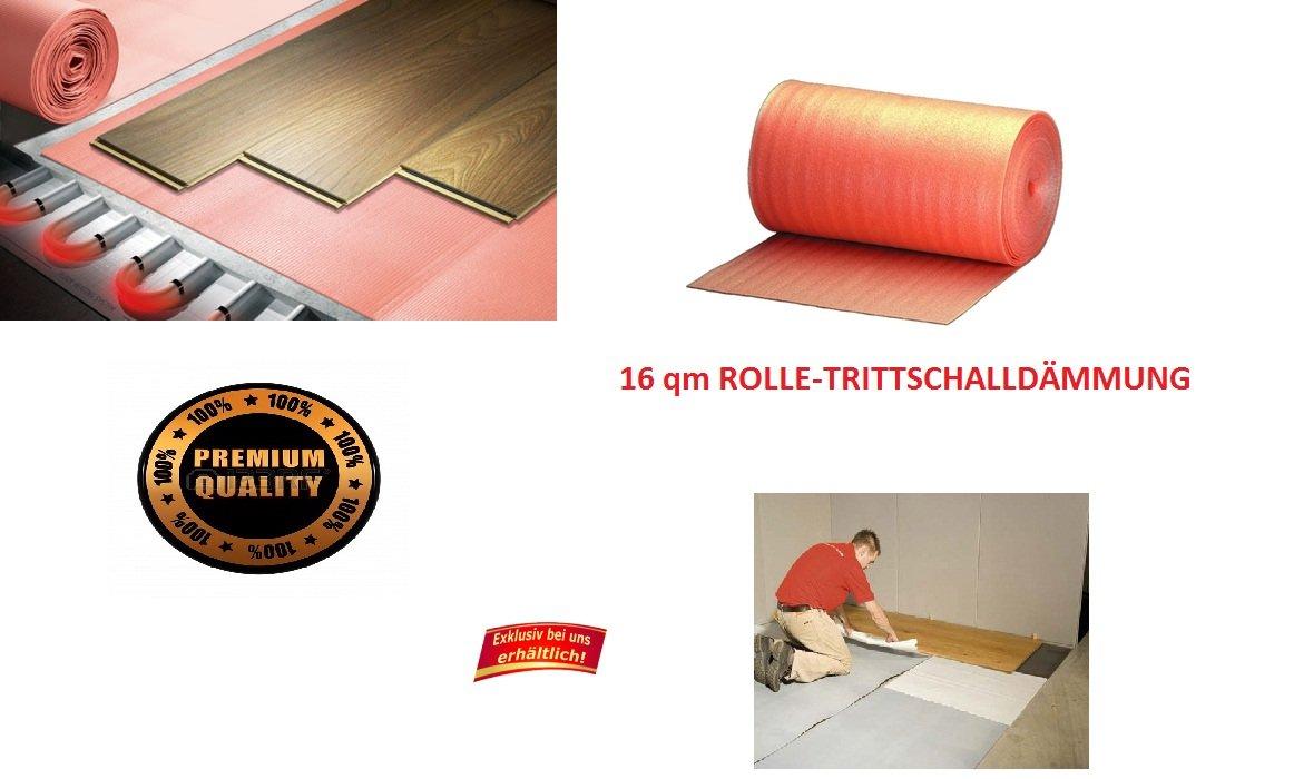 Schön Trittschalldämmung für Laminat Parkett Boden 1,6 mm(16m²) XPS für  MT19
