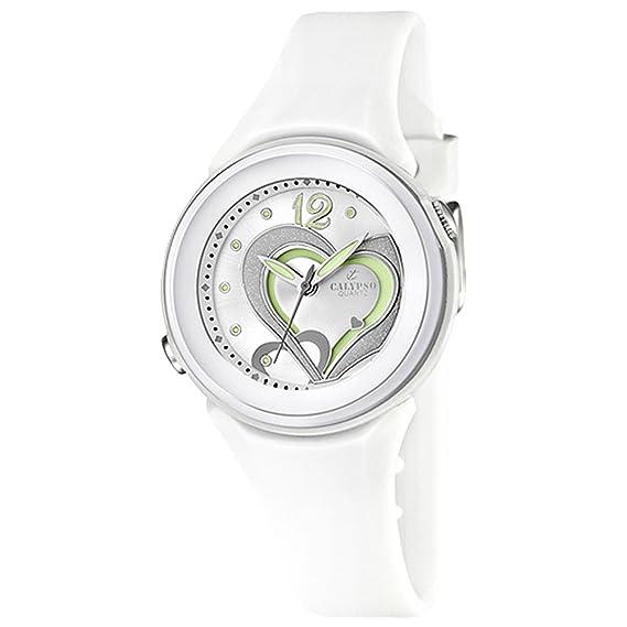 Calypso Reloj analógico para mujer 10 ATM K5576, relojes Variante: N ° 1: Amazon.es: Relojes