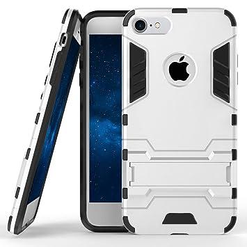 3fc1b523a7 Fogeek iPhone8ケース 耐衝撃 iPhone7ケース 衝撃吸収カバー スタンド機能搭載 滑り防止 超