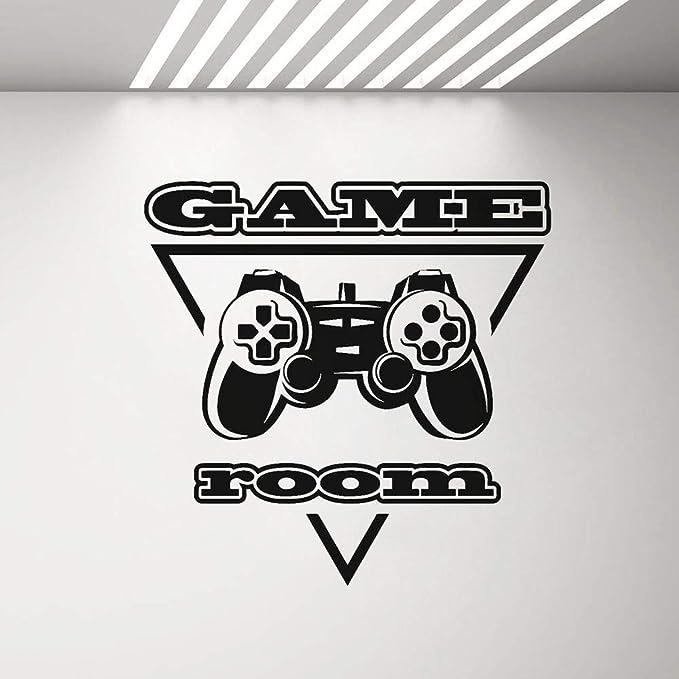 yaonuli Vinilo Adhesivo Sala de Videojuegos Sala Logo Etiqueta ...