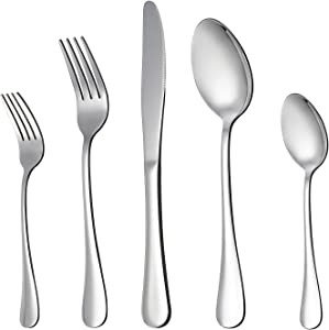 Lianyu 20-piece Silverware Flatware Cutlery Set