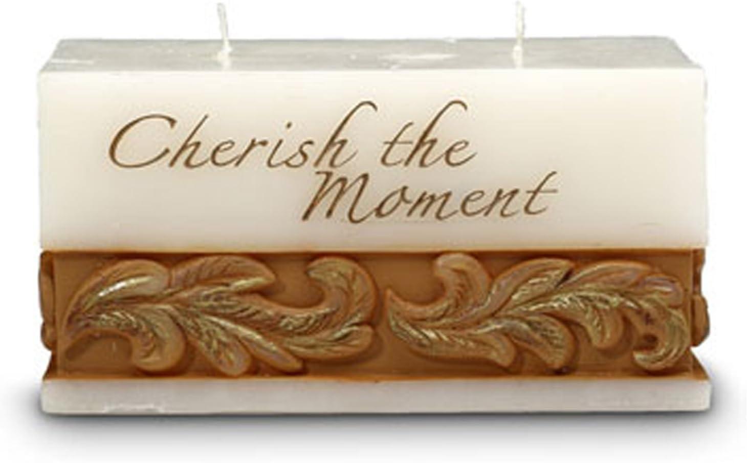 Pavilion Gift Company Cherish The Moment Candle 08533CE