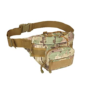 reliable quality 100% genuine the sale of shoes Sacoche Homme Femme Sac Banane Homme Camouflage Sac ...