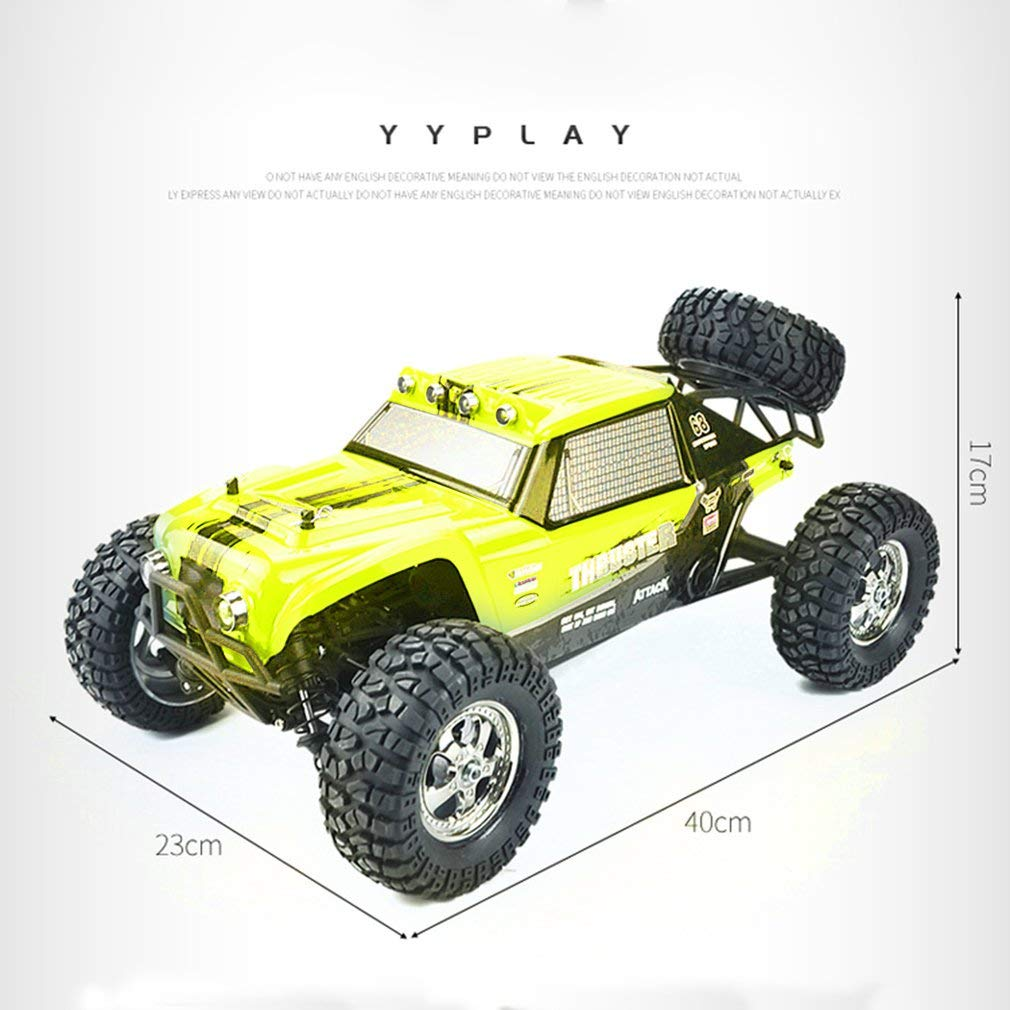 leoboone HBX 12889 1//12 2.4G 26km//h 4WD RC Truggy Thruster Off Road Desert Truck Two Speed Mode RC Car Toys for Children