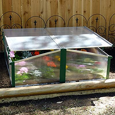 Austrian Double Sided Cold Frame Greenhouse by Exaco Trading Co