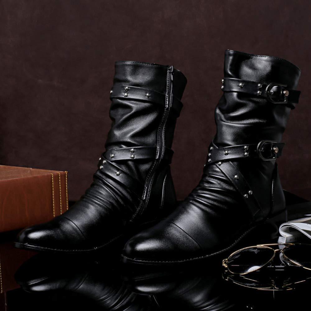 QIKAI Militärstiefel Für Für Für Männer Herrenstiefel Winterstiefel Britische Armeestiefel Werkzeug Martin Stiefel Warme Herren Lederstiefel 68cd18