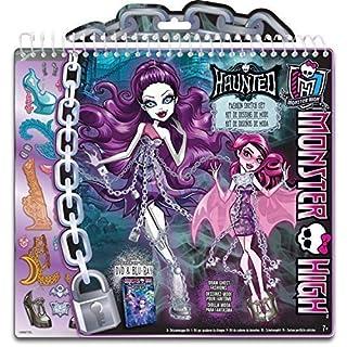 Monster High Haunted Ghostly Fashion Design Sketchbook