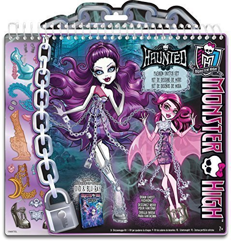 Monster High Haunted Ghostly Fashion Design Sketchbook -