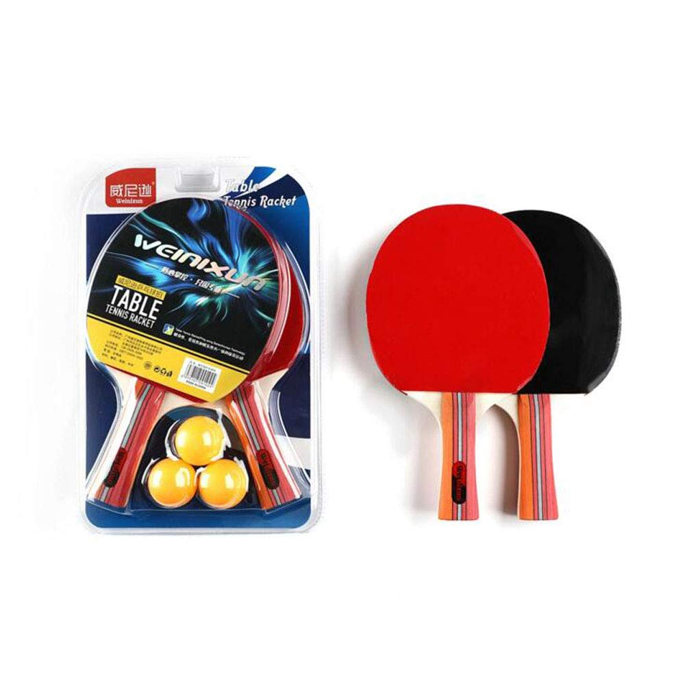 KUANDARPP Raqueta De Tenis De Mesa Ping Pong Mango Cómodo con ...