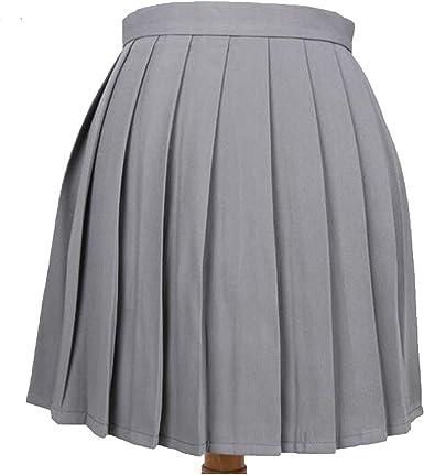 Rays-light-skirt 2019 Falda Plisada de Cintura Alta para Uniforme ...