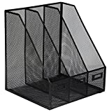 OSCO Mesh Triple Magazine Rack - Black