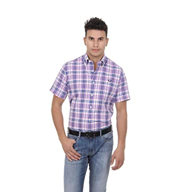 Fred Perry Fred Perry Mens Shirt 30212904 0033 CHECKED: Amazon.es ...