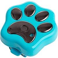 Rilevatore WiFi con GPS per collari per cani, antismarrimento, con localizzatore RF-V30 e LED lampeggianti, impermeabile