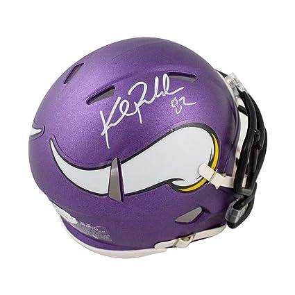 e3c6bd0b782 Kyle Rudolph Autographed Minnesota Vikings Speed Mini Football Helmet - JSA  COA