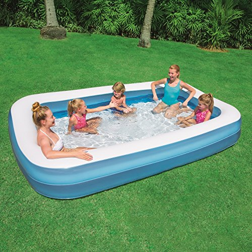 YUXI® Bestway Swimming Pool for Kids and Adults SPA Bath Tub 10 Feet with Air Pump