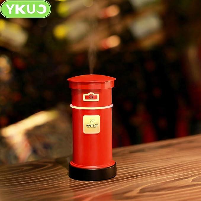 1949shop Home Creative Humidificateur De Boite Aux Lettres Humidificateur A Atomiseur Mini Air Usb Couleur Rouge Amazon Fr Cuisine Maison