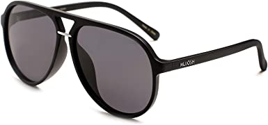 MUJOSH Aviator Gafas de sol polarizadas de gran tamaño para ...