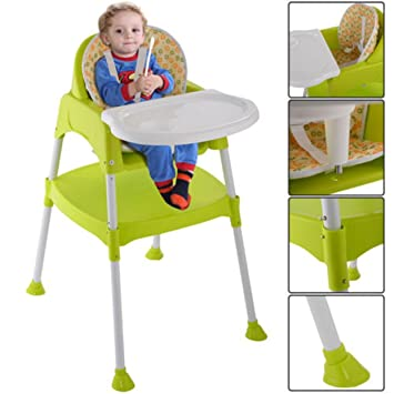 Amazoncom Highchair 3 In 1 Baby Chair High Table Convertible