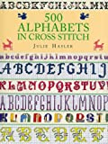 img - for 500 Alphabets in Cross Stitch book / textbook / text book