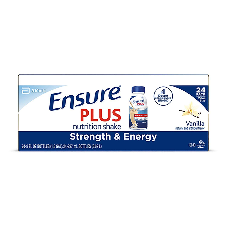 Ensure Plus Homemade Vanilla Shake (8 oz. bottles, 24 pk.) (pack of 2)